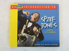 PROPER INTRODUCTION TO SPIKE JONES and his CITY SLICKERS with booklet