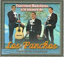 Los Panchos CD NEW Tesoros De Coleccion Canciones Rancheras 886973136621