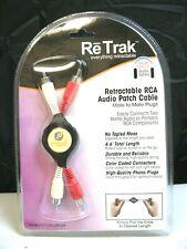 Emerge Retractable RCA Audio Patch Cable (ETCABLERCAA)(QTY 1 ea)ALT