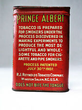 Tabakdose *PRINZ ALBERT* Pfeifen- und Zigaretten-Tabak‿ Original USA!
