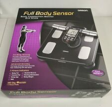 Omron HBF516B Body Composition Monitor and Scale - 7 Fitness Indicators NEW