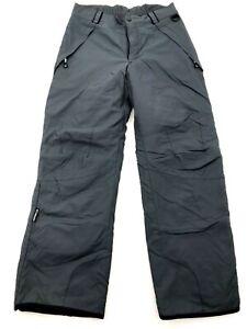Columbia Snowboard Snow Ski Pants Black Adjustable Mens Medium