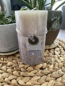 Capri Candle Designs Vintage Pillar New Boysenberry Cassis Hand Poured Candle