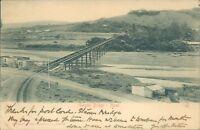 natal umgeni bridge sallo epstein & co 1904 early postcard