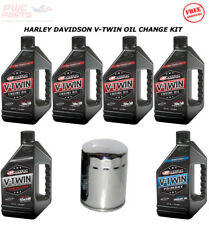 HARLEY DAVIDSON V-Twin Cam MAXIMA SYNTHETIC Oil Change Kit Street Glide 2000-15