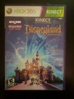 Kinect Disneyland Adventures Microsoft Xbox 360 WITH CASE BUY 2 GET 1 FREE