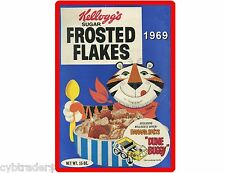 Kellogg's Frosted Flakes Cereal 1969 Refrigerator / Tool Box Magnet