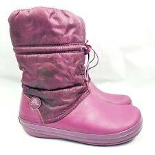Crocs Purple Snow Boots Womens 9