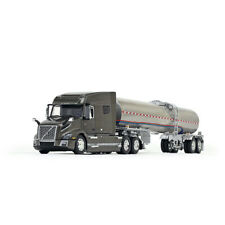 1/64 DCP Volvo VNL 740 Mid-Roof Sleeper in Urban Bronze Metallic with Brenner Fo