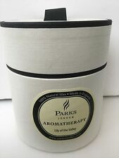 BNIB PARKS CANDLES  AROMATHERAPY LILY OF THE VALLEY LUXURY BOXED CANDLE