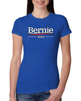 Bernie 2020 Official Campaign Logo Womens Junior Fit Tee Sanders Elections Shirt