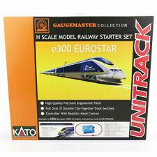 More details for gaugemaster kato 2000102 n gauge eurostar e300 12 car premium train set