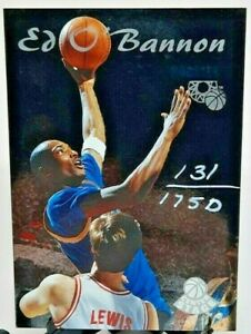1995 Classic Rookies Center Stage /1750 Ed O'Bannon #CS6 Rookie