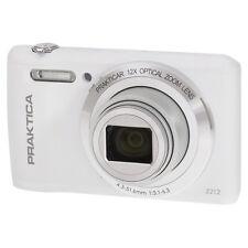 PRAKTICA Luxmedia Z212 Digital Compact Camera White 20 Megapixels 12x Zoom