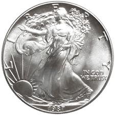 1987 $1 American Silver Eagle 1 oz Brilliant Uncirculated
