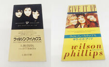 "WILSON PHILLIPS Rare 2 x Japan 3"" CD 1992 You Won't See Me Cry + Give It Up"