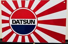 Nissan Datsun Rising Sun Silvia Jdm Racing Vintage Reproduction Garage Sign