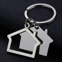Creative House Shaped Design Alloy Key Ring Key Holder Key Chain Key Pendant