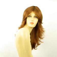 Parrucca donna lunga biondo rame : ZOE 27