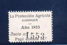 ALBERIQUE (VALENCIA).   NO CATALOGADO