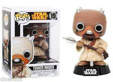 Figura vinile Tusken Raider Star Wars Pop Funko Vinyl figure bobble-head n° 19