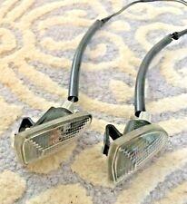 Genuine Smart Car Front Side Blinker Marker Side Light Turn SET W/ Plug Pigtails