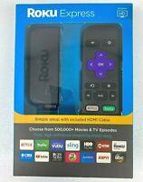 Roku Express HD Media Streamer 3900RW - Black Streaming Media Player 2019 *NEW*