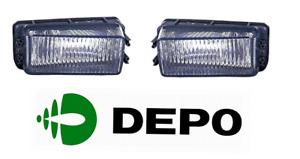 Audi 80 B3 1986-1991 Front Fog Light Set Left+Right Depo