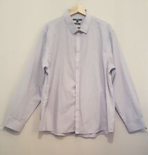 Mens 17.5 Inch Neck 44 Inch Chest Grey Casual Shirt Couple of Little Marks Shown