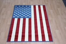 Quality Blue Red New York NYC Rug 150cm x 100cm American Flag USA Flag