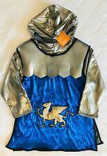 H14 NWT Hooded Gymboree Knight Tunic Halloween Costume Sz 5-6  add jeans,legging