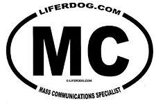 4x6 USN MC MASS COMMUNICATIONS SPECIALIST  STICKER