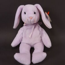TY BEANIE BABIES BABY FLOPPITY Lavender Bunny 1996