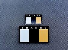 IR France Flag Standard & Mini Patch Set GIGN RAID BRI COS Infrared