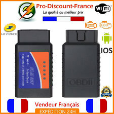 ELM327 WIFI Valise Défaut Diag Diagnostique OBD2 ODB2 Lecture ELM 327 Code