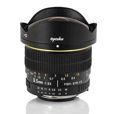 Opteka 6.5mm f/3.5 HD Aspherical Fisheye Lens for Canon EOS
