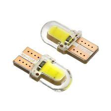 2 x bombillas LED W5W T10 194 168 3W 8SMD COB CAN BUS   Gel de Sílice blanco