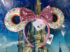Disney Parks 2021 Donut Mickey Minnie Ear Headband New In Hand