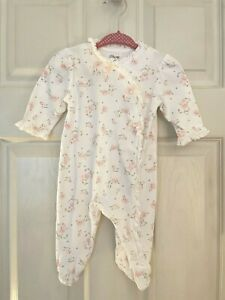 Baby Girl's Little Me Layette Pajamas 3 Months Blanket Hat