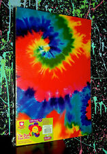 TIE DYE FOAM SHEET PACK (3 Sheets) psychedelic hippie art craft material large