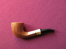 Unsmoked Chacom Straight Grain with 9mm filter hand cut pipe new NOS tie-vintage