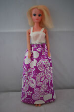 Susie girl Cathie teenage doll blonde hair large eyes Barbie clone 70's 1