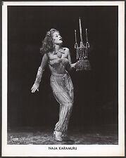 1950's vintage original BURLESQUE promo photo by MAURICE SEMOUR of NAJA KARAMURU