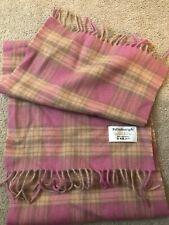 Edinburgh 100/% Lambswool Luxury Scottish Tartan Scarf Stewart Purple