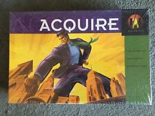 Acquire New Factory Sealed Box Avalon Hill 1999 Board Game Vintage Big Box