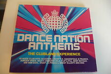 DANCE NATION ANTHEMS 2CD MINISTRY OF SOUND SCOOTER/ N-TRANCE/ ELLIS-BEXTOR....