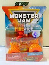 Monster Jam FIRE & ICE MONSTER MUTT ROTTWEILER Special Edition 1:64 3+