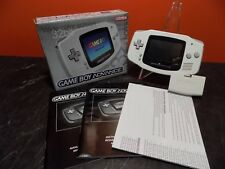 Nintendo Gameboy Advance GBA Console White Boxed Collectors Condition G016