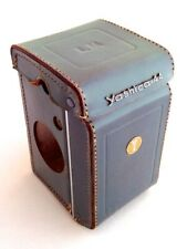 Leather Eveready Case for Yashica 44 LM in Excellent Condition - Grey!