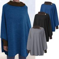 ZANZEA Womens Long Sleeve Casual Loose Pullover Top Shirt Tunic Blouse Plus Size
